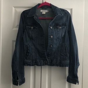 Blue Medium Dark Denim Jacket
